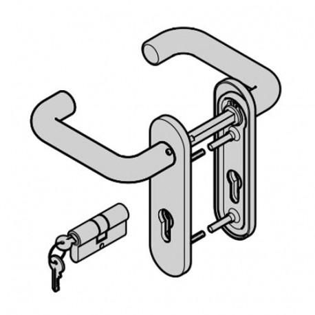 Ручка для двери Si-F Hormann