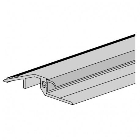 Алюминиевый упорный профиль с уплотнением