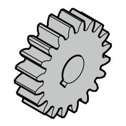 Зубчатое колесо Z17 для STA 60