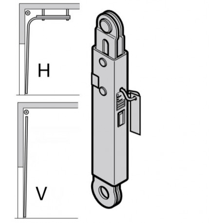 Улавливающее устройство, тип H, V, Hormann