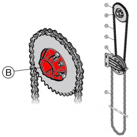 Поводок цепного колеса Hormann