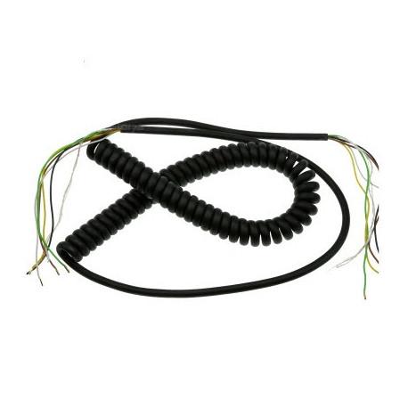 Спиральный провод (5-жильный)